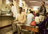 In a fix: A farmer awaits his turn at a bank in Bayana, Bharatpur. (Photo: Harikrishna Katragadda/Mint)