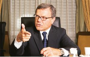 Big plans: Martin Sorrell, chief executive officer, WPP Group Plc.