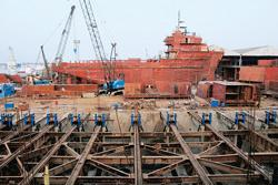 Fuelling growth: An ABG Shipyard facility near Surat in Gujarat. The firm is installing a unit at Dahej in the state that will also have the capability to build jack-up rigs used in oil exploration ac