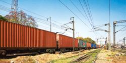 About 30% of India's container cargo of 7 million TEUs a year is transported by rail, and the rest by road (Photo by: Rajeev Dabral/Mint)