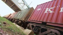 Mega deal: A container train. The new electric engines will be used on the planned dedicated freight corridors, and for hauling cargo on other lines. (Photo: Ramesh Pathania / Mint)