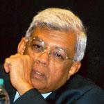 Below expectation: Deepak Parekh, HDFC chief. The firm's Q1 profit rose 25%, less than estimates. (AP)