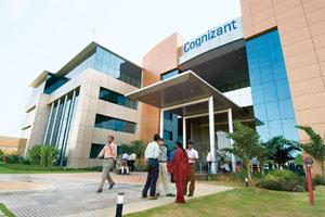 See-saw: A file photo of Cognizant's office in Chennai. Photo: Madhu Kapparath / Mint