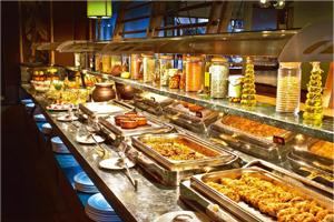 Teaser spread: Does the way food is arranged in a buffet attract you to certain dishes?