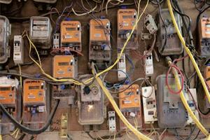 Boosting efficiency: Gujarat has more than nine million meters now. Photograph: Adam Ferguson / Bloomberg