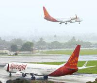 Clipped wings: SpiceJet is returning two planes to its lessor, Bancock and Brown Aircraft Management Llc., in its bid to cut operational costs. (Reuters)