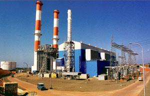 Tripping up: A file photo of  the erstwhile Dabhol power plant. Photograph: AFP