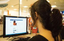 Second life: Facebook has over 760,000 users located in India. Photograph: Ramesh Pathania / Mint