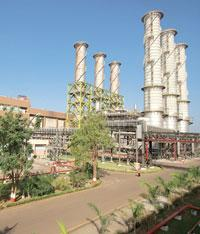 Contract dispute:NTPC's plant in Gandhar, Gujarat. The gas from Reliance's basins was meant for NTPC's plants in Gujarat.