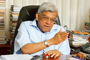 Long-term player: Deepak Parekh of HDFC Ltd, the country's biggest mortgage lender, said his firm aimed at being around even 100 years later and, therefore, he was building a long-term business with a