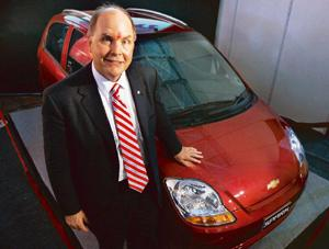 Small is big: Frederick Henderson, General Motors' president, says the company's focus in the near term would be on small and mini cars as 90% of the Indian car market is dominated by that segment. Ra