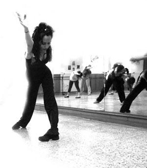 Perfect moves: A Jazz class at Bluebells school.