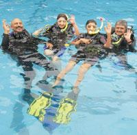Dive in:Planet Scuba is a five-star diving centre