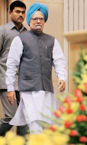 For the people: A file photo of Prime Minister Manmohan Singh. Subhav Shukla/PTI