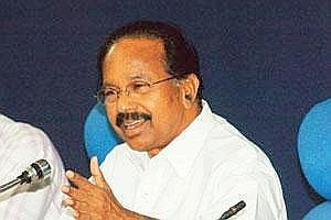 Seeking reforms: Congress leader Veerappa Moily. PIB