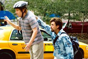 Coiffed: Adam Sandler plays Zohan, a hair-dresser on a mission.