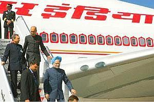 Decisive visit: Prime Minsiter Manmohan Singh arrives at John F Kennedy Airport in New York. The US state department is pressing Congress to ratify the agreement before it adjourns this week. Manvende