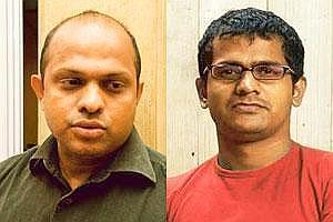 New course: (left) Agnello Dias, former chief creative officer of JWT India, quit to start his own agency with Santosh Padhi (right), former executive creative director at Leo Burnett India Pvt. Ltd.