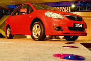 Popular choice: Sales of Maruti's SX4 and Dzire rose 52% in September. Ramesh Pathania / Mint