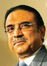 In the hot seat: Asif Ali Zardari was elected Pakistan President on 6 September. His government must improve the political, economic and security conditions that are causing public discontent in the c