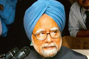Attracting talent: The Manmohan Singh-led government has also cleared a higher salary for the chairman of the pension fund regulator. Manvender Vashist / PTI