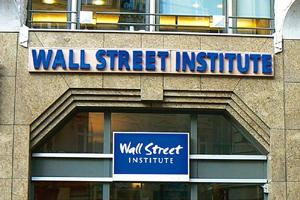 In focus: A language school in Paris, Wall Street Institute, that depends on the cachet of the Wall Street name. The company, which has more than 400 schools around the world, has opened 43 this year.