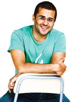 Busy bee: Bhagat expects his next book to release in 2010.