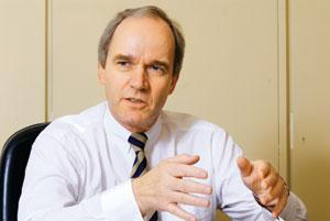 Plans for India: Karl-Ludwig Kley, chairman of the Merck KGaA executive board, says India is on the firm's global development map and there will be more products coming the country for development stu