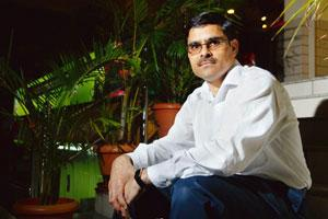 Skills in demand: BioCOS' Kumar has two prototypes that he hopes to offer commercially by Feb 2009. Hemant Mishra / Mint