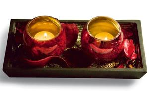 North-south divide: No matter where you are, be eco-conscious this Diwali. Harikrishna Katragadda / Mint. Diyas: Ishatvam, New Delhi