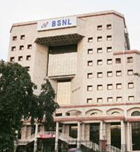 Headstart:??BSNL headquarters, New Delhi. As a state-run firm, BSNL is given preference over private rivals in offering new technologies. Rajeev Dabral / Mint