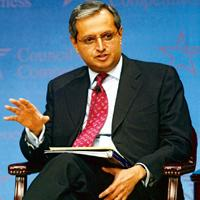 Wrong call? Citigroup chief executive Vikram Pandit had earlier said that the company was heavily overweight in emerging markets. Chris Kleponis / Bloomberg