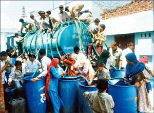 Quality-conscious: The parliamentary group suggests municipal services, such as water supply, be included in the Act to ensure better services. Hindustan Times