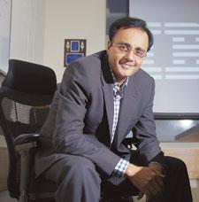 Business strategy: IBM's Nipun Mehrotra says the company sees potential in the insurance, consumer goods, manufacturing, health care, real estate and retail sectors, but telecom remains the biggest se