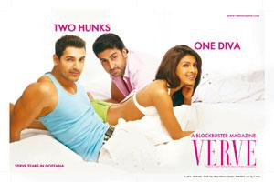 "Gloss and glamour: It's placement in ""Dostana"" could help the Verve magazine to push its circulation and ad revenues, say experts."