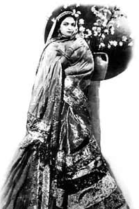 Screen test: Akhtari Bai sang seven songs and acted in her debut film, Tahir Hussain's Ek Din Ka Badshah. Photograph Courtesy: 'Ae Mohabbat'