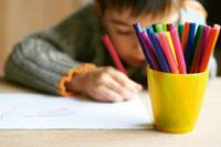 Switched off: Routine activities such as colouring can be stifling.