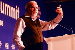 Gujarat Chief Minister Narendra Modi cautioned the Centre against letting 'dirty money' find its way into the banking and financial sector. Ramesh Pathania / Mint