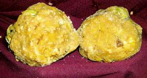 Sweet prospects: A pair of Tirupati laddus. The GI status is granted to identify a product as having a specific provenance, and with a certain quality or reputation associated with that origin.