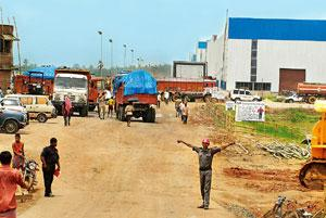 More trouble: A file photo of the Tata Motors' Nano factory in Singur. Indranil Bhoumik /Mint