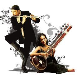 Collaborator: After Tull, Shankar will next perform with her father.