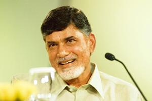 Upbeat: Naidu says the Congress came to power in AP just when the fruits?of his?labour were to be reaped. Harikrishna Katragadda / Mint