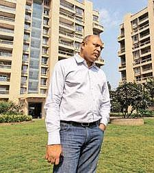 Switching lanes:The current slump has hurt builders such as Atul Chordia of Panchshil Realty (above), who had earlier set sights on the upper middle class and are now looking at customers with modest