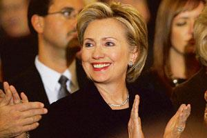 New role: Hillary Clinton is set to become the new secretary of state.Carolyn Kaster / AP