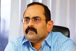 In the race: Rajeev Chandrasekhar-owned Jupiter Entertainment is in talks to buy a stake in INX News. Hemant Mishra / Mint