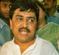 New role: Ashok Chavan at his residence on Friday after being named as Maharshtra's new CM. Gautam Singh / AP