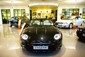 Seeking credit: A file photo of a Jaguar dealership. Tata Motors is also seeking retail public deposits of up to Rs2,700 crore, offering up to 11% annual interest for a maximum period of three years.