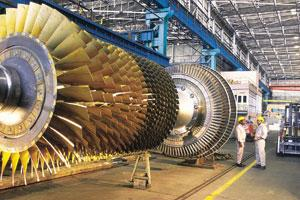 Fair practice: A gas turbine at an assembly unit of Bhel. Some public sector firms, including Bhel, are signing integrity pacts on 16 December.