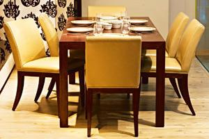Dining table by Urbanist at Basix, MGF Plaza Mall, Gurgaon, Rs32,400.