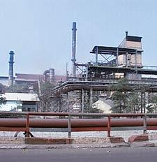 Eco-friendly: The Bhilai Steel Plant meets 80% of its fuel needs from coke oven gas to reduce emissions. Taneesha Kulshrestha / Mint